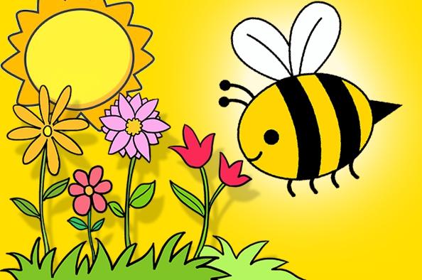 Méhes - mézes otthoni foglalkoztató gyerekeknek