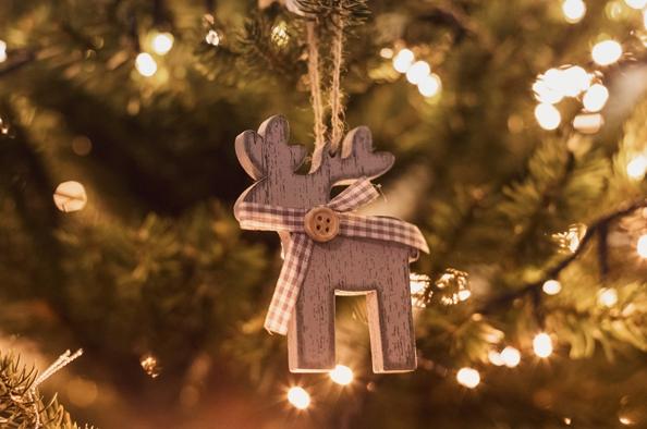 Karácsonyfadíszek környezettudatosan