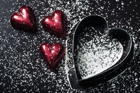 Valentin-napi szíves desszertek