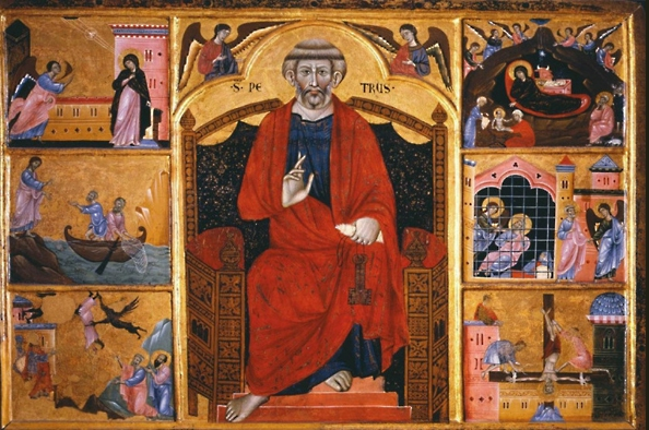 Az egyház első vezetője – Szent Péter apostol székfoglalása