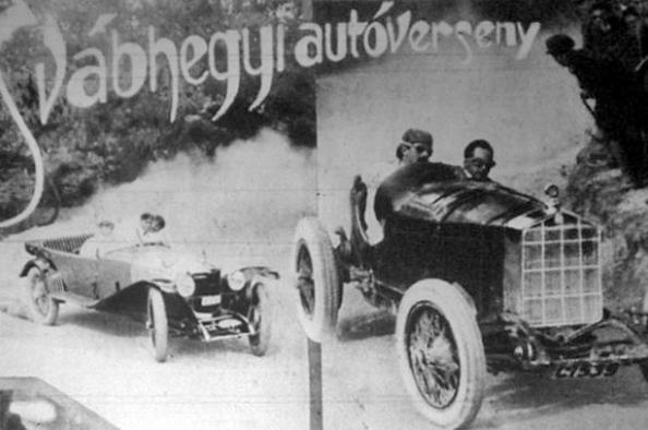 Száguldás anno - autóverseny a hegyvidéken