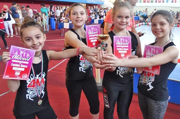Kis táncosaink nagy sikere