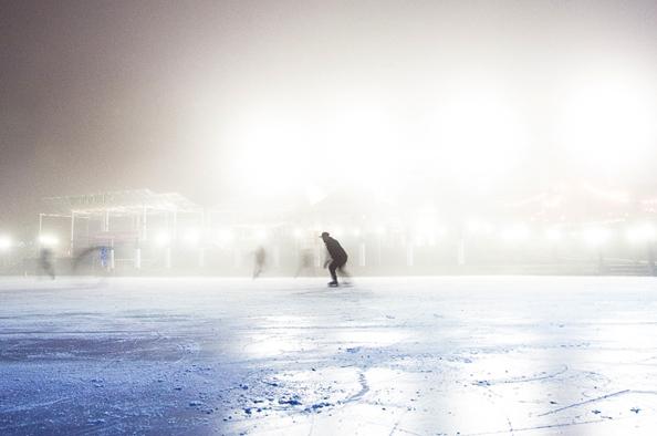 Csillogás, kacagás, elegáns hölgyek – az első budai jégpálya