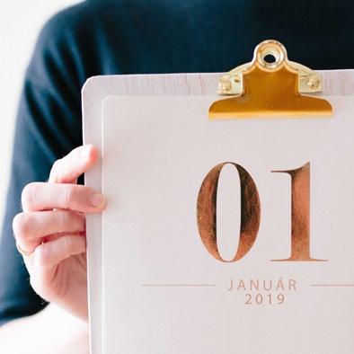 Az újesztendő kapujában – ránk vár a január!