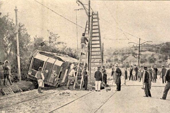 Vidám csókok, nagy rémület – az első hegyvidéki villamosbaleset