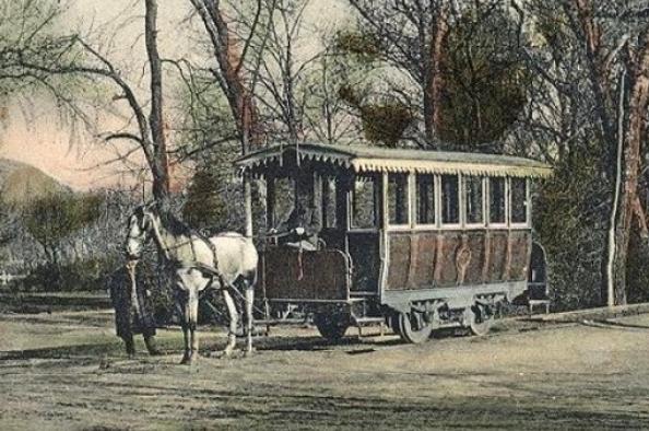 Gyorsparaszt, omnibusz és lóvasút Budán