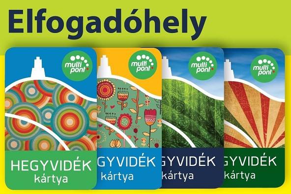 Újonnan csatlakozott HEGYVIDÉK kártya elfogadóhelyek - 2017.