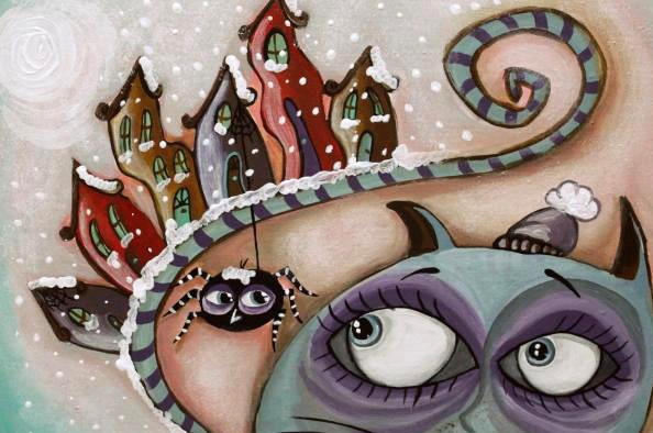 Lenyűgöző mesék, abszurd fantázia – Dani Orsolya kiállítása