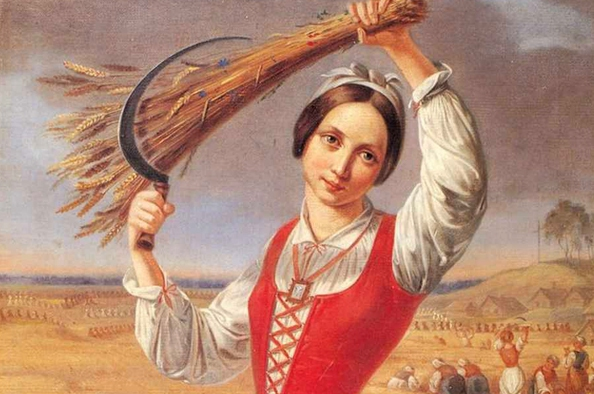 Régi szép aratóünnep – Sarlós Boldogasszony napja