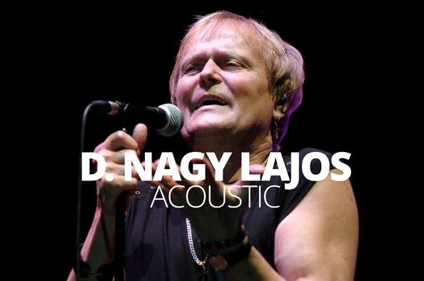 Zenével a magány ellen – D. Nagy Lajos akusztikus koncertje