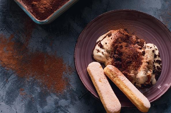 Az olaszok mennyei desszertje, a tiramisu