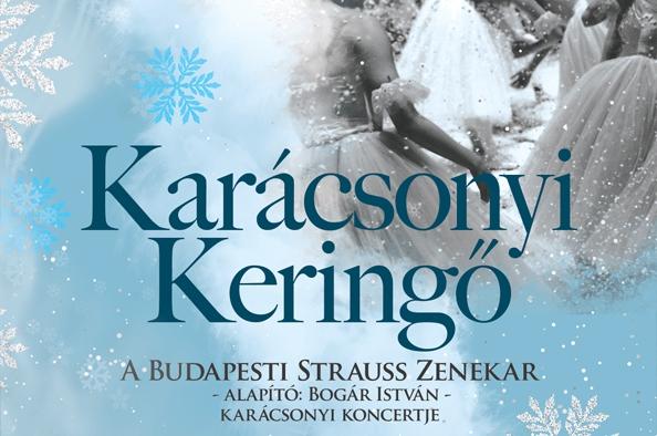 Karácsonyi keringő – a Budapesti Strauss Zenekar koncertje